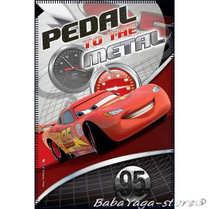 Детско одеяло КОЛИТЕ Cars fleece blanket Pedal on the Metal - 07207