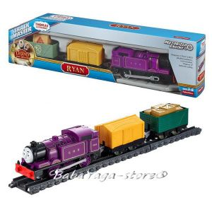 Fisher Price Влакчето РАЙАН Thomas & Friends Motorized RYAN Engine от серията TrackMaster™ CDB75
