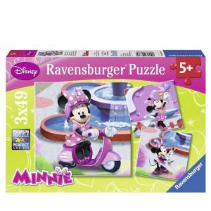 Ravensburger puzzle 3x49 Disney Disney Minnie Mouse - 09338