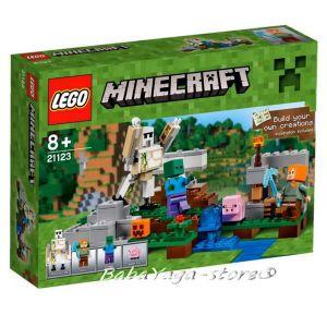 2016 LEGO Minecraft The Iron Golem - 21123