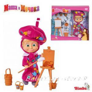 Simba - Маша и мечока - Маша художник, 12 см - 109302047