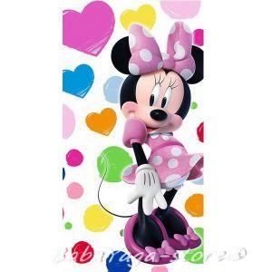 Детска Хавлия (70x140cm) Мини Маус, Minnie Mouse bath towel, 15012
