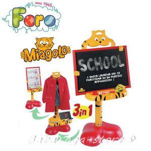 Faro Детска черна дъска 3 в 1, Miagolo - 8300