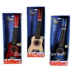 Simba Детска дървена КИТАРА Musical Guitar MMW, 3 вида - 106833108