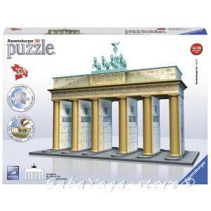 Ravensburger 3D ПЪЗЕЛ Световни забележителности Брандербургската врата, Brandenburger Tor-Berlin 12551