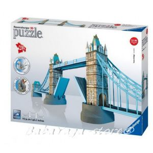 Ravensburger 3D ПЪЗЕЛ Световни забележителности Тауер Бридж, Tower Bridge London - 12559