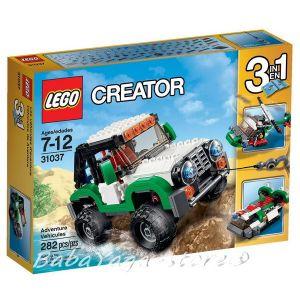 LEGO Конструктор CREATOR Машини за приключения Adventure Vehicles - 31037