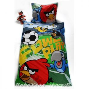 Спален комплект с героите на Дисни Angry Birds, 2 части