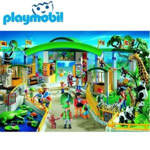 ПЪЗЕЛ Playmobil ЗООПАРК с мини-фигура (60) на Schmidt - 55299