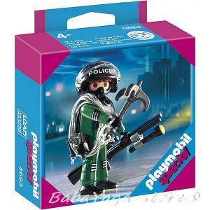 Playmobil Конструктор Полицай Swat officer Special - 4693