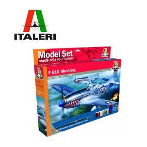 Italeri Сглобяем модел самолет F-51D Mustang - 510071086