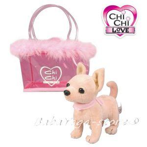 Simba Chi-Chi Love Плюшено КУЧЕ Чихуахуа в чантичка - 105891717