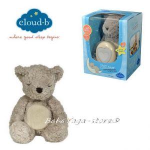 7404 МЕЧЕ плюшено с туптящо и светещо СЪРЦЕ от CloudB, Glow Cuddles Bear