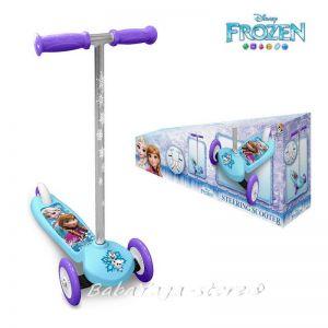 Детска Тротинетка - Скутер с 3 гуми Замръзналото кралство, Frozen Scooter - RN240045