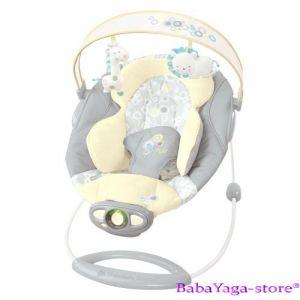 Bright Starts Шезлонг за бебе музикален с вибрации InGenuity Automatic Briarcliff - 7031