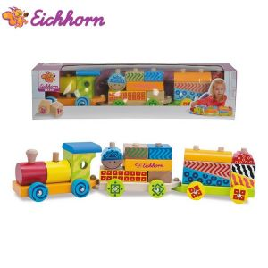 Eichhorn Wooden train, 41 cm, 100002223