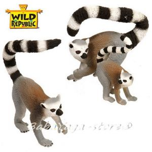 Lemur Eco-Dome Family, Wild Republic, 89306