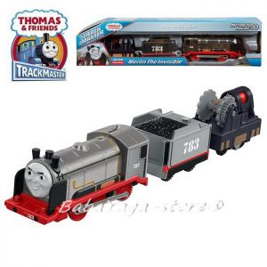 Fisher Price Thomas & Friends Motorized Merlin the Invisible Engine TrackMaster™ FBK19