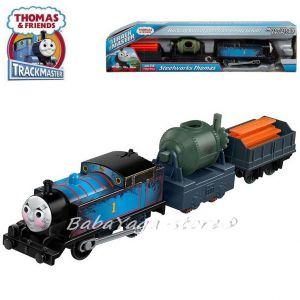 Fisher Price Влакчето ТОМАС, Thomas & Friends Motorized Steelworks THOMAS Engine от серията TrackMaster, FBK20