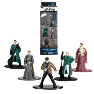 Dickie Toys 253180002 5-Pack Die-Cast Nano Set, Figures, Harry Potter Collectable Figures, 253180002