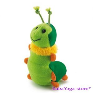 Trudi Stuffed Animal plush toy Caterpillar, Sweet Collection, 29439