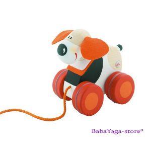 SEVI Дървена играчка дърпане Mini КУЧЕ - 82022