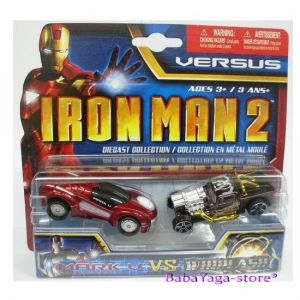 Maisto Iron Man2 Колички комплект Mark V. vs Whiplash 2бр. VERSUS - 15147
