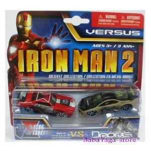 Maisto Iron Man2 Колички комплект Black Widow vs Drone 2бр. VERSUS - 15147
