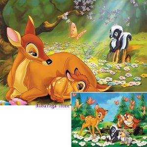 Ravensburger ПЪЗЕЛ за деца с героите на  Дисни (2 х 20ч.) Бамби и приятели - 089147