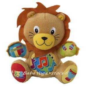 Baby EinStein ЛЪВЧЕ музикална плюшена играчка Press & Play Pal - 90539