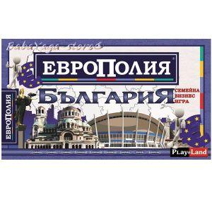 Play Land Занимателна игра за деца - Европолия България/Голяма/ - A-175