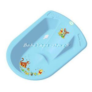ВАНА за бебе анатомична DISNEY с термометър от Kiddo синя - 7006