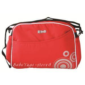Чанта Mama Bag за детска количка от KIDDO в червен нюанс  2004 - 5