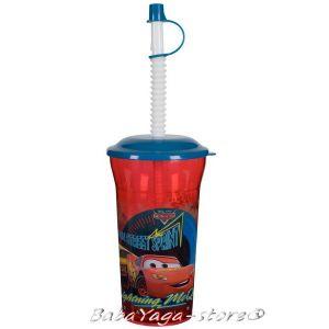 Чаша със сламка Колите - CARS 5193340