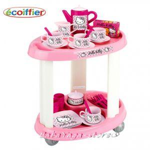 Екоафие Количка за сервиране Hello Kitty - 1604