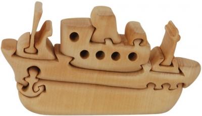 Пъзел дървен 3D - Кораб
