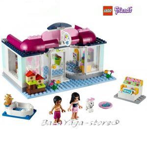 LEGO Конструктор Friends Хартлейк салон за красота за домашни любимци 41007