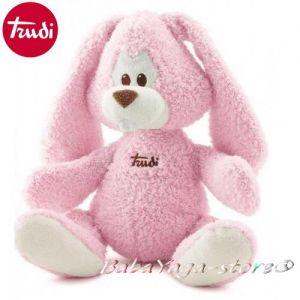 Trudi Cremino Плюшена играчка за бебе ЗАЕК роз - 23782