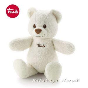 Trudi Cremino Плюшена играчка за бебе МЕЧЕ бяло - 25995