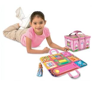 Игра-кутия мини къща с кукла ZipBin - 1101XS