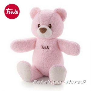 Trudi Cremino Плюшена играчка за бебе МЕЧЕ роз - 25972