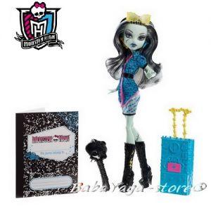 Monster High - Кукла Frankie Stein с куфар от серията Scaris Y7667-Y7671