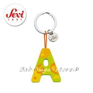 """Ключодържател - дървена БУКВА """"А"""" с марката Sevi - 82411"""