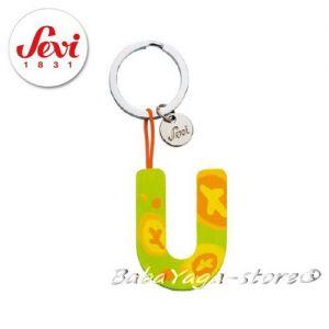"""Ключодържател - дървена БУКВА """"U"""" с марката Sevi - 82431"""