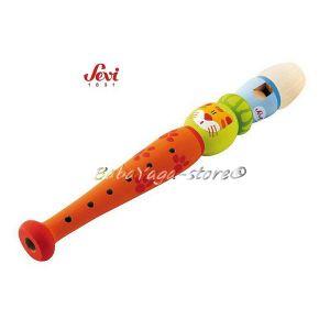 Музикална дървена играчка - ФЛЕЙТА с марката Sevi - 81859 Flute