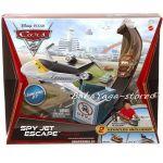 CARS ПИСТА със самолет Jet excape от Mattel - V2865