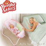 Bright Starts Креватче за бебе Playtime to Bedtime Sleeper от Pritty in Pink колекция - 60163