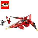 0/LEGO Конструктор NINJAGO Kai Fighter, нарушена опаковка, 70721