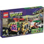 LEGO Конструктор TURTLE Улична гонка Shellraiser Street Chase - 79104