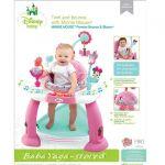 Bright Starts Детски център-бънджи Minnie Mouse Premier Bounce and Bloom от серията Disney Baby - 60137 Нов внос 05/2016
